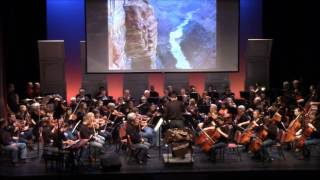 Raleigh Symphony performs  Grofe's On The Trail from The Grand Canyon Suite