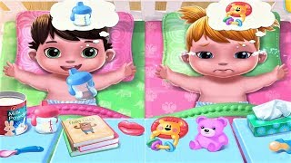 BABY TWINS - Funny Care Games For Kids & FAMILIES