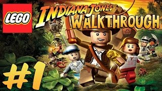 Прохождение LEGO Indiana Jones: The Original Adventures - Часть 1: Затерянный Храм