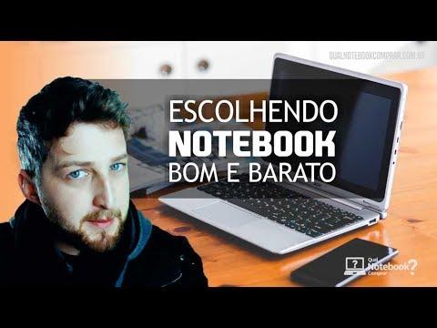 Como escolher um notebook bom e barato 2018