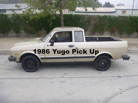 1986 yugo gv pick up youtube. Black Bedroom Furniture Sets. Home Design Ideas