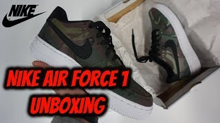 Nike AIR FORCE 1 - LV8 Reflective Camo | UNBOXING (Only €52)