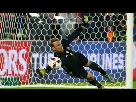 Manuel NEUER ● Crazy Germany Saves & Skills 2010/17 | (1080p-HD)