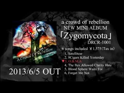 a crowd of rebellion-mini album【Zygomycota】M-3「O.B.M.A」short ver.