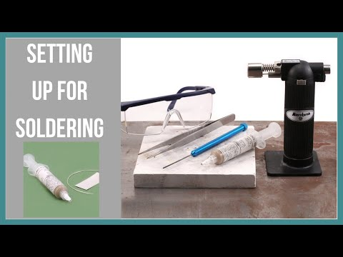 Setting up for Soldering at Home - Beaducation.com