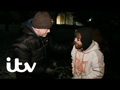 Sleeping Rough On The Coldest Winter Night In 7 Years | Ross Kemp Living With Homelessness