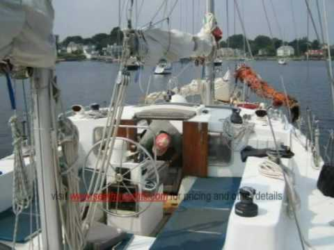 53 Bruce Roberts Steel Ketch Boat For Sale