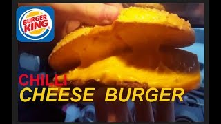 burger king long chilli cheese burger review