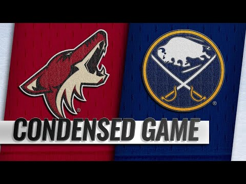 12/13/18 Condensed Game: Coyotes @ Sabres