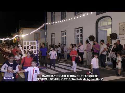 """MARCHA """"ROSAIS TERRA DE TRADIÇÕES"""""""