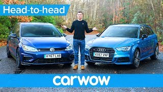 VW Golf R vs Audi S3 2018 - find out which is the best | Head-to-Head