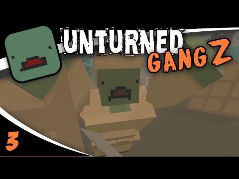 "UNTURNED GangZ - ""Olympia Military Base Raid!!"" - S04E03"