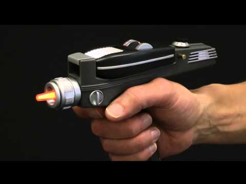 Star Trek Phaser universal remote control by The Wand Company