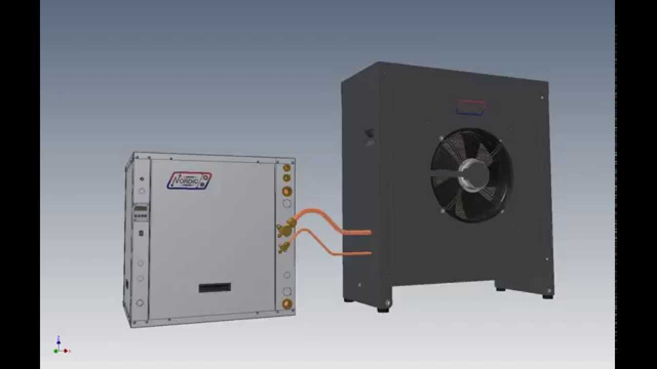 Say Hello To Our Air To Water Atw Series Heat Pump