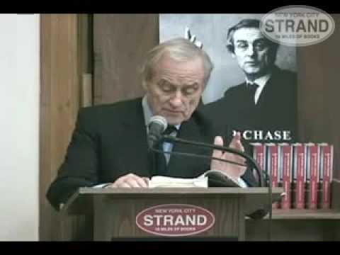 Sir Harold Evans at Strand, 11-19-09, part 1 of 8