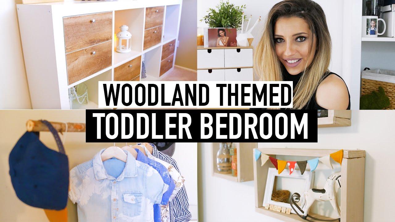 Diy Woodland Themed Nursery Decor