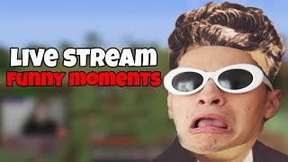 ZAPPY, DICTATOR PE MINECRAFT -  LIVE STREAM FUNNY MOMENTS