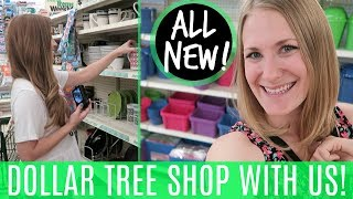 HUGE DOLLAR TREE SHOPPING VLOG! 💚 Organization, NEW Finds, Tips & More! (with LoveMeg💕)