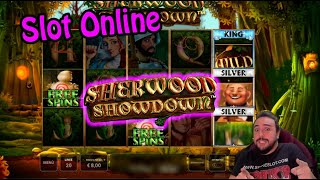 SLOT ONLINE - PROVIAMO LA SHERWOOD SHOWDOWN!