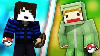 UNGE VS GLP #01 - POKÉMON BATTLE in Minecraft Jump World | ungespielt
