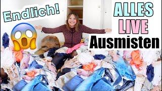Alles muss weg! 🙈 Ich miste meinen gesamten Kleiderschrank aus   Mamiseelen