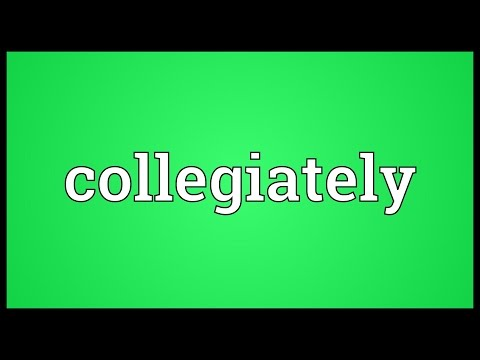 Header of collegiately