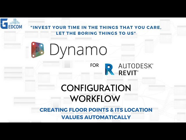 Automation Slab Point   00 Instalation Dynamo Workflow