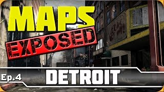 Ep. 4 - Detroit | Advanced Warfare Maps Exposed! (Jump, Spots & Lines of Sight)