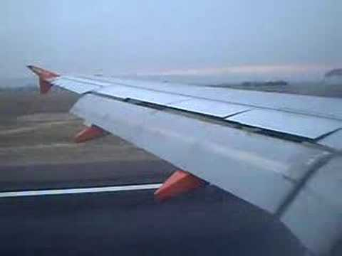 Easy Jet Landing in Marseille Provence