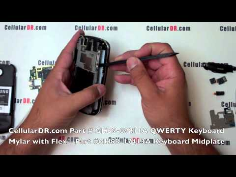 Sprint Samsung Epic 4G Repair Video SPH-D700 Disassembly Take Apart