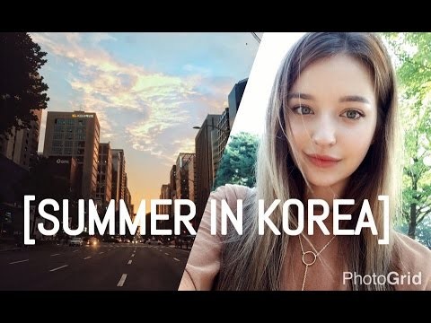 SUMMER WHEN I MOVED TO KOREA [vlog,modeling,travel,new friends,korean food]