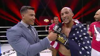 GLORY 67: Kevin Vannostrand Post-Fight Interview