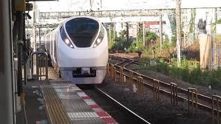 常磐線E657系特急ひたち18号品川行柏駅通過