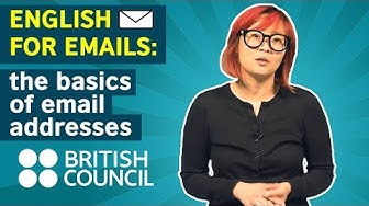English for Emails: Email addresses