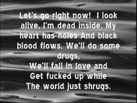 hollywood undead knife called lust with lyrics!