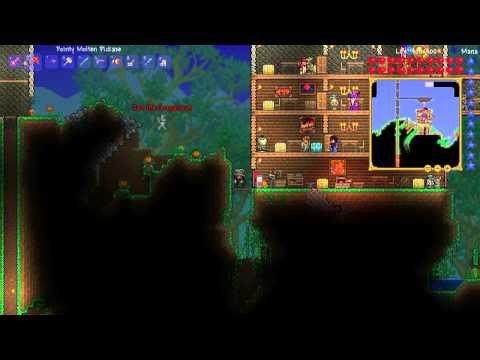 Terraria 1.2 - Episode 27 - Cobalt Drill and Laser Rifle