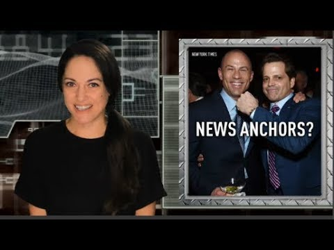 Avenatti, Scaramucci show pitched at CNN and MSNBC
