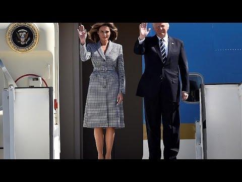 NATO-Pomp und Zeremonien für Trump