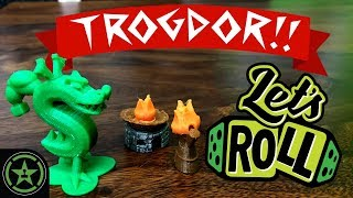 Burn It All - Trogdor!! The Board Game (Preview Copy) - Let