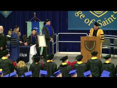 College of St. Scholastica Graduation Dec 16, 2017