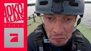 2 Meter Rampe auf Wasserski fahren: Meistern sie die Aufgabe? | Joko & Klaas gegen ProSieben