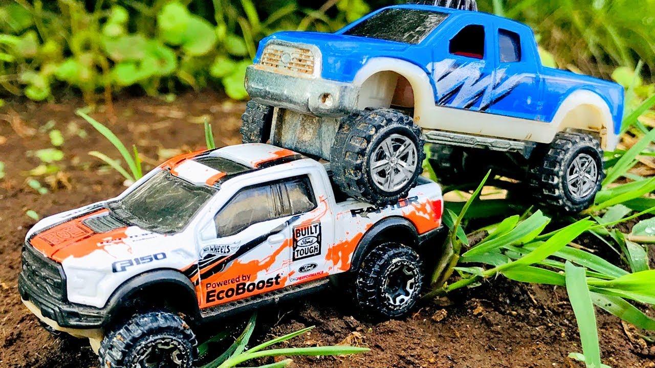 Adivinar Unir dentro  Carros 4x4 Monstruos Para Niños - Pista de Carros Monstruos Atrapados en el  Lodo - YouTube