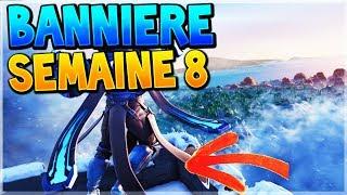 TROUVER LA BANNIÈRE CACHÉE DE LA SEMAINE 8 SAISON 7 SUR FORTNITE BATTLE ROYALE !