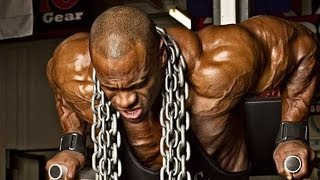 IRON SHOULDERS: IFBB Pro Bodybuilder Lionel Brown