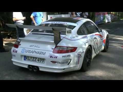 Timo Bernhard Porsche 911 GT3 Cup  40. HOMBURGER ADAC BERGRENNEN 2013