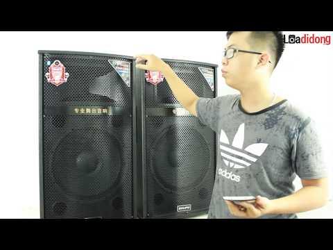 Review cặp loa điện đôi hát karaoke Shupo BT127 1500W