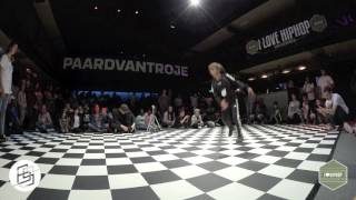 Bgirlsessions bgirl battle 1on1 - prelim - kirty vs India