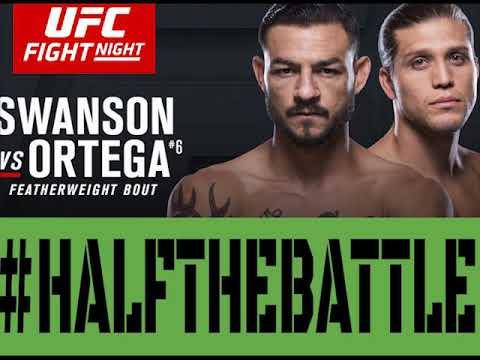UFC Fresno: Swanson vs Ortega Bets, Picks, Predictions on Half The Battle