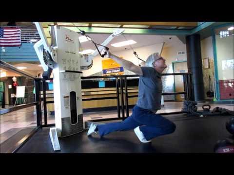 LA Fitness Phoenix, AZ: Run! Old Dude In Gym!