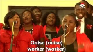ONISE IYANU - Choir Ministration 2nd Service, Sunday 6 Nov., 2016
